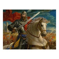 Masterpieces Puzzle The Warrior King (550 Parça)