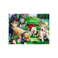 Masterpieces Puzzle Putting Puppies (750 Parça)
