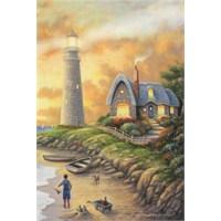 Masterpieces Puzzle Lighthouse At Dusk (1000 Parça)