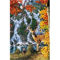 Masterpieces Puzzle Watchful Eyes (1000 Parça)