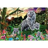 Masterpieces Puzzle Majectic Tigers (500 Parça)