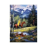 Masterpieces Puzzle Springtime In The High Country (1000 Parça)