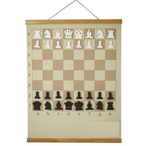 e4 satranç elastik eğitim panosu rulo pano