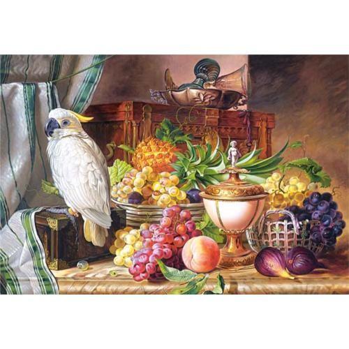 Castorland 3000 Parça Still Life With Fruit Cockatoo