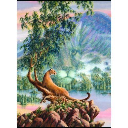 Sunsout Puzzle Mountain Lion Grandeur (1000 Parça)