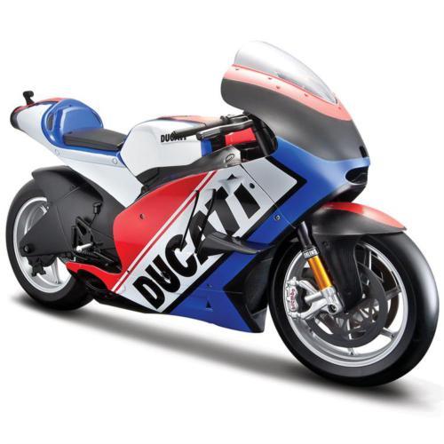Maisto 2011 Ducati Desmosedici 1:6 Model Motosiklet Mavi
