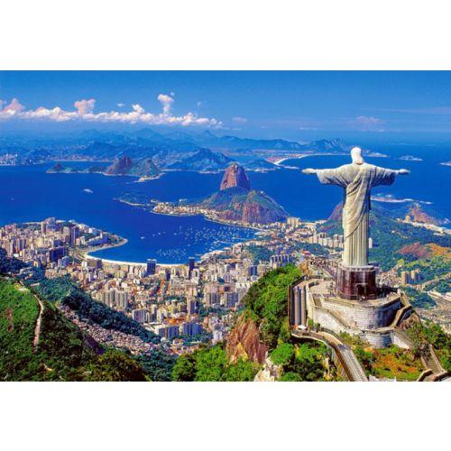 Castorland 1000 Lik Puzzle Rio De Janeiro Brazil