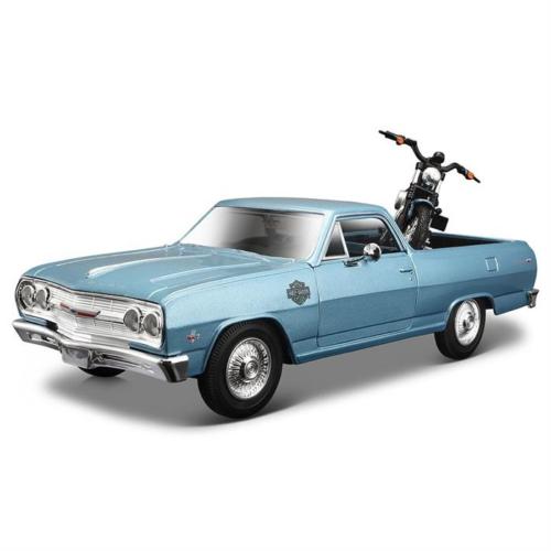 Maisto 1:25 Harley-Davidson 1965 Chevrolet El Camino Model Araba