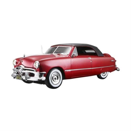 Maisto 1950 Ford Araba 1:18 Model Araba Special Edition Kırmızı