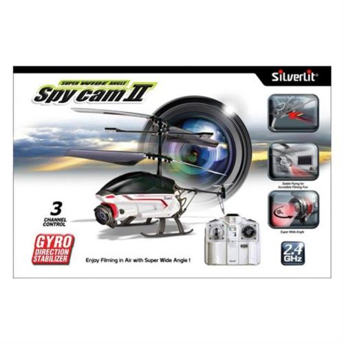 Silverlit Spy Cam II U.K. Kameralı Helikopter 2.4G - 3CH Gyro Beyaz