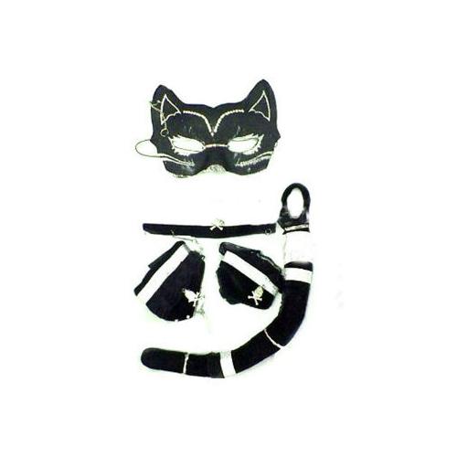 Toptancı Kapında Maskeli Kedi Kadın Kostümü