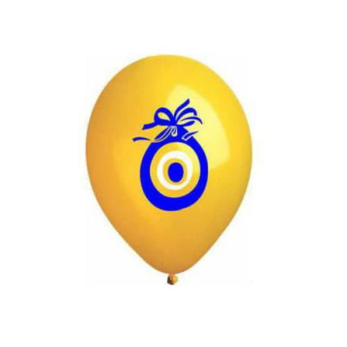 Nazar Boncuğu Desenli Balon 100 Adet