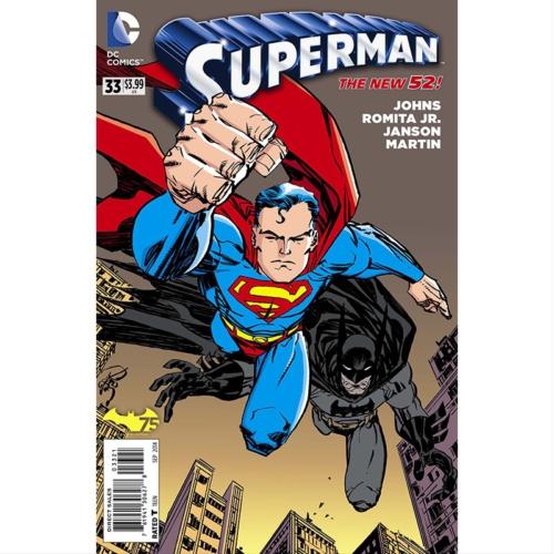 Dc Comics Superman #33 Batman 75 Var Ed