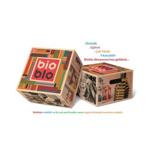 Piatnik Organik Renkli Bloklar (Bioblo 204)