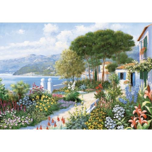 Puzz 2000 Parça Puzzle Renkli Bahçe