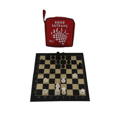Hobi Eğitim Dünyası Bond Satranç Seti (Ufak Çanta)