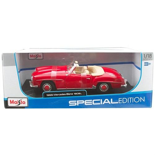 Maisto 1:18 1955 Mercedes-Benz 190 Sl Model Araba