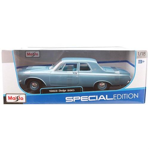 Maisto 1963 Dodge 330 Model Araba 1:18