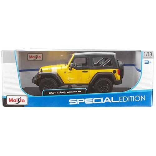 Maisto 1:18 2014 Jeep Wrangler Model Araba