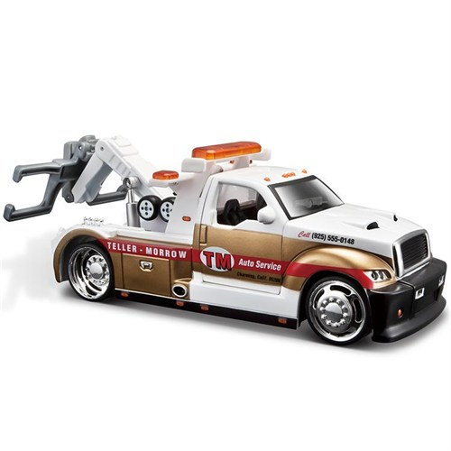 Maisto Teller Morrow Tow Truck Sons Of Anarchy 1:24 Model Araba