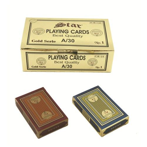 Star Gold Oyun Kağıdı (Tek Deste)