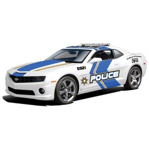 Maisto Chevrolet Camaro Ss Rs Police 2010 Model Araba 1:18 Special Edition