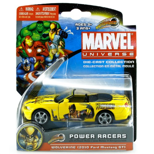 Maisto Marvel Power Racers 2010 Ford Mustang Gt Oyuncak Araba 1:87