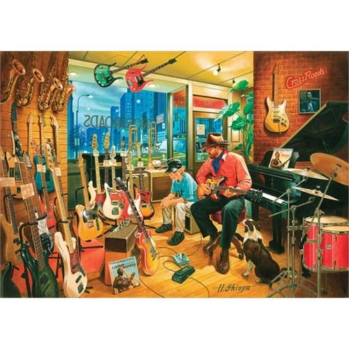 Art Puzzle Cross Roads Music Shop 1500 Parça Puzzle