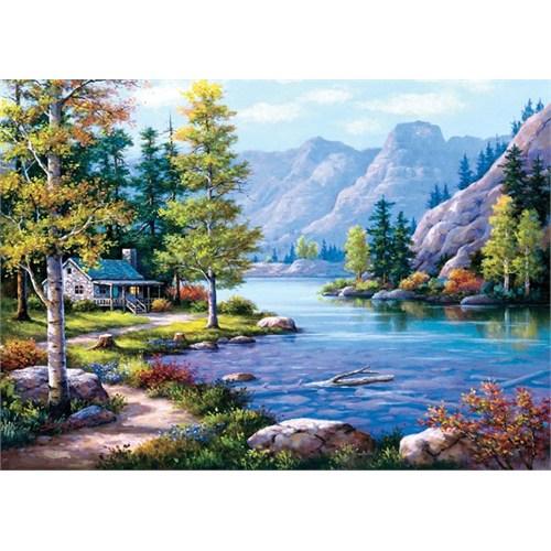 Art Puzzle Göl Evi 2000 Parça Puzzle