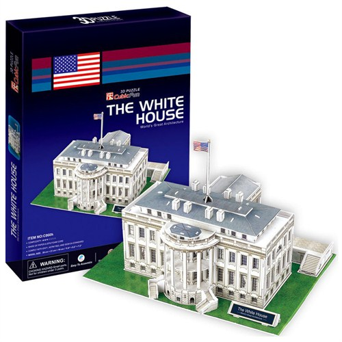 Cubic Fun Puzzle Beyaz Saray (3 Boyutlu)