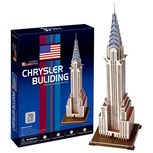 Cubic Fun Puzzle Chrysler Building (3 Boyutlu)