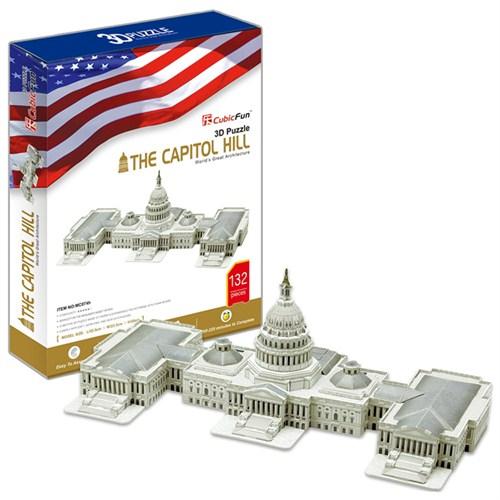 Cubic Fun Puzzle The Capitol Hill (3 Boyutlu)