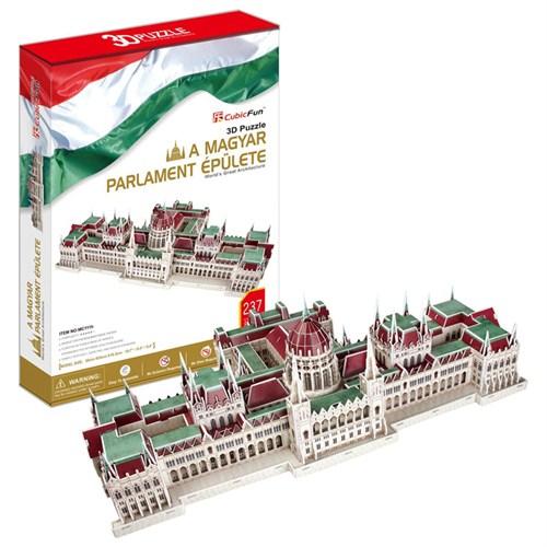 Cubic Fun Puzzle Hungarian Parliament Building (3 Boyutlu)
