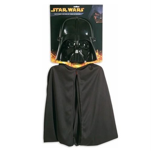 Rubies Darth Vader Maske - Pelerin Set