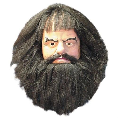 Hagrid Latex Maske