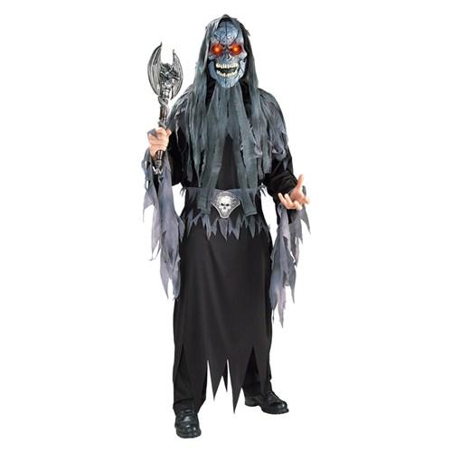 Kurukafa Yetişkin Kostüm Ve Işıklı Maske