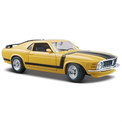 Maisto Ford Mustang Boss 1970 Araba 1:24 Model Araba S/E