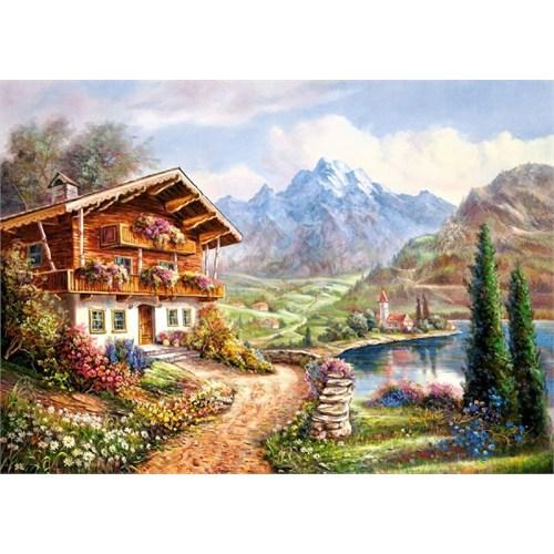 Castorland 2000 Parça High Country Retreat Puzzle