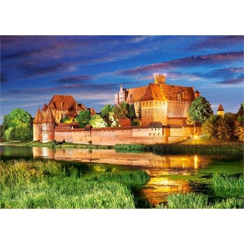Castorland Malbork Kalesi (Polonya) - 1000 Parça Puzzle