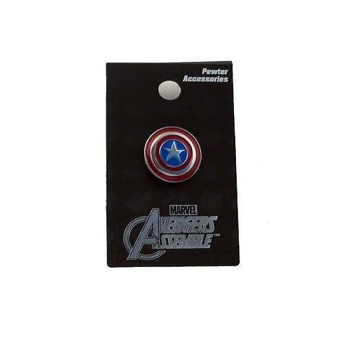 Captain America Renkli Kalkan Pin