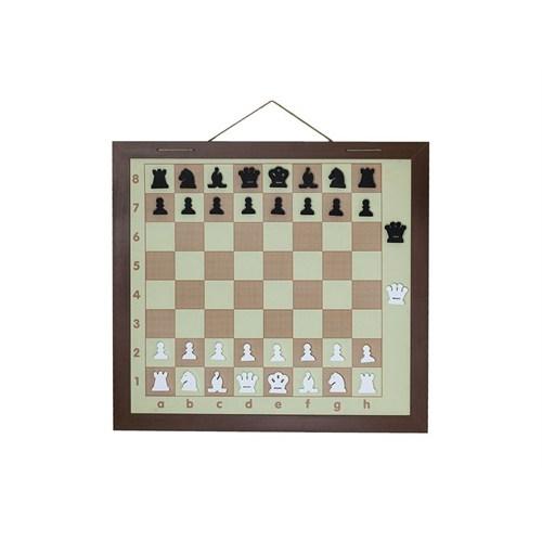 E4 Satranç Askılı Eğitim Panosu