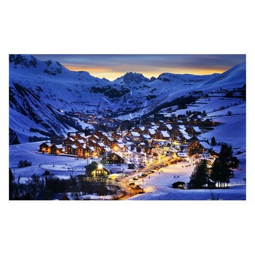 Pintoo Fransa Alpleri'nde Alaca Karanlığın Güzelliği Plastik Puzzle 1000 Parça