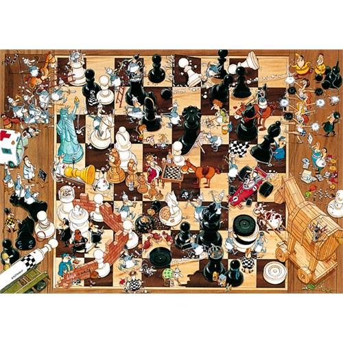 Heye Puzzle Black or White, Degano (1000 Parça)