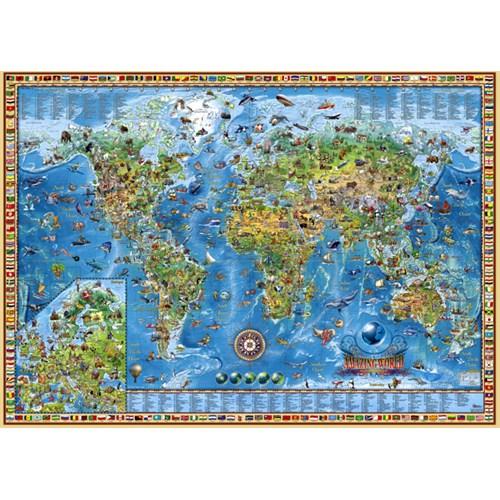 Heye Puzzle Amazing World (3000 Parça)