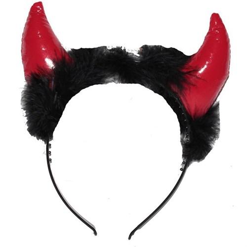 Pandoli Vilineks Şeytan Boynuzu Kırmızı Renk Otrişli