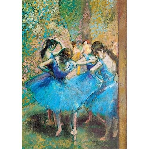 Trefl 1000 Parça Mavi Dansçılar Puzzle (Edgar Degas)