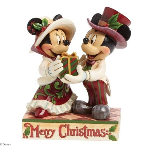 Disney Traditions Enesco Victorian Mickey And Minnie