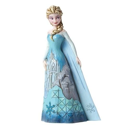 Disney Traditions Enesco Frozen Elsa Ice Palace Figure