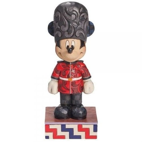 Disney Traditions Enesco Greetings From England Mickey Mouse Figure