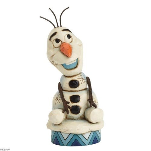 Disney Traditions Enesco Silly Snowman Olay Figurine